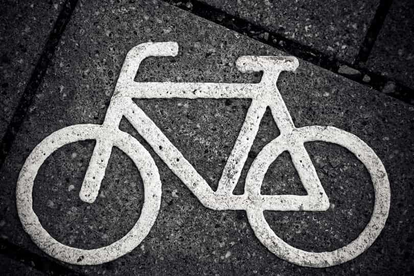Follow the general guidelines for cycling to ensure road safety and security